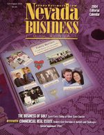 Nevada Business Magazine September 2003 View Issue