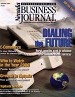 Nevada Business Magazine January 2000 View Issue