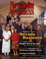 Nevada Business Magazine January 2002 View Issue
