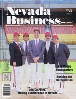 Nevada Business Magazine April 1988 View Issue