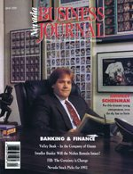 Nevada Business Magazine April 1992 View Issue