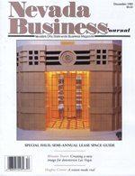 Nevada Business Magazine December 1989 View Issue