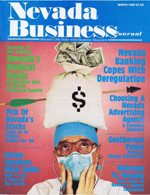 Nevada Business Magazine March 1986 View Issue