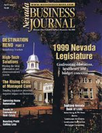 Nevada Business Magazine April 1999 View Issue