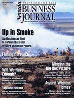 Nevada Business Magazine December 1999 View Issue