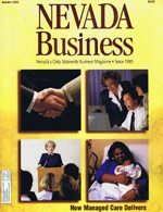 Nevada Business Magazine October 1996 View Issue