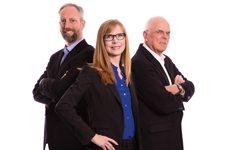 Tom White, Stephanie Kilroy and Michael Traynor Haws Corporation