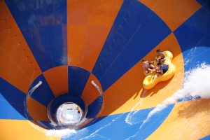 The Tornado has touched down in Las Vegas at Wet'n'Wild Las Vegas and joins the water park's more than 25 slides.