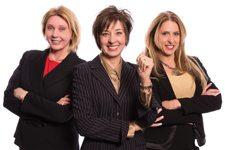 Cynthia Glickman, Robyn Yates and Di Redman Windermere Real Estate