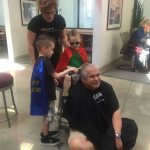 Centennial Toyota and its customers showed their support for kids with cancer at its Third Annual Centennial Shave Off last Friday.