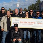 PT's Entertainment Group donated $35,000 and dropped off hundreds of bikes and toys to 98.5 KLUC's 17th annual Chet Buchanan & The Morning Zoo Toy Drive.