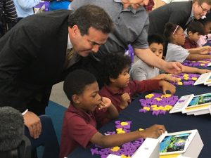 Bank of Nevada is answering the call to help the Andre Agassi College Preparatory Academy take part in a valuable research project which may hold promise