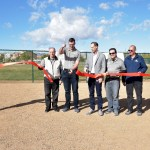 Ribbon Cutting for New Dog Park at Nathaniel Jones Park small