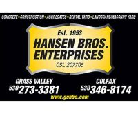 Hansen Brothers Ent.