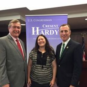 Council member Kathleen Kingston meets with Congressmen Hardy (NV) and Murphy (PA) regarding mental health in Nevada