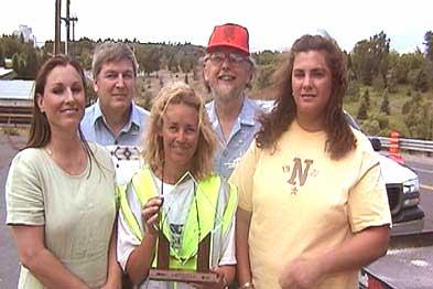 U News Flagger Moms Safety Campaign Wins National Award