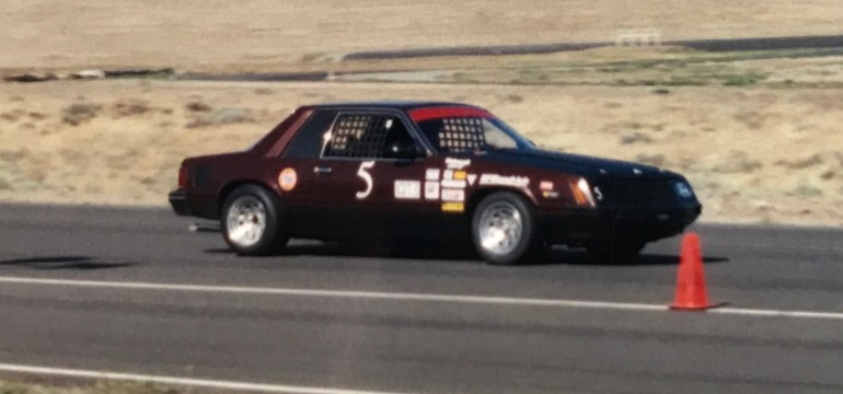 """Chronicles of the """"FLYING TURD"""": 1981 SCCA Ford Mustang GT3"""