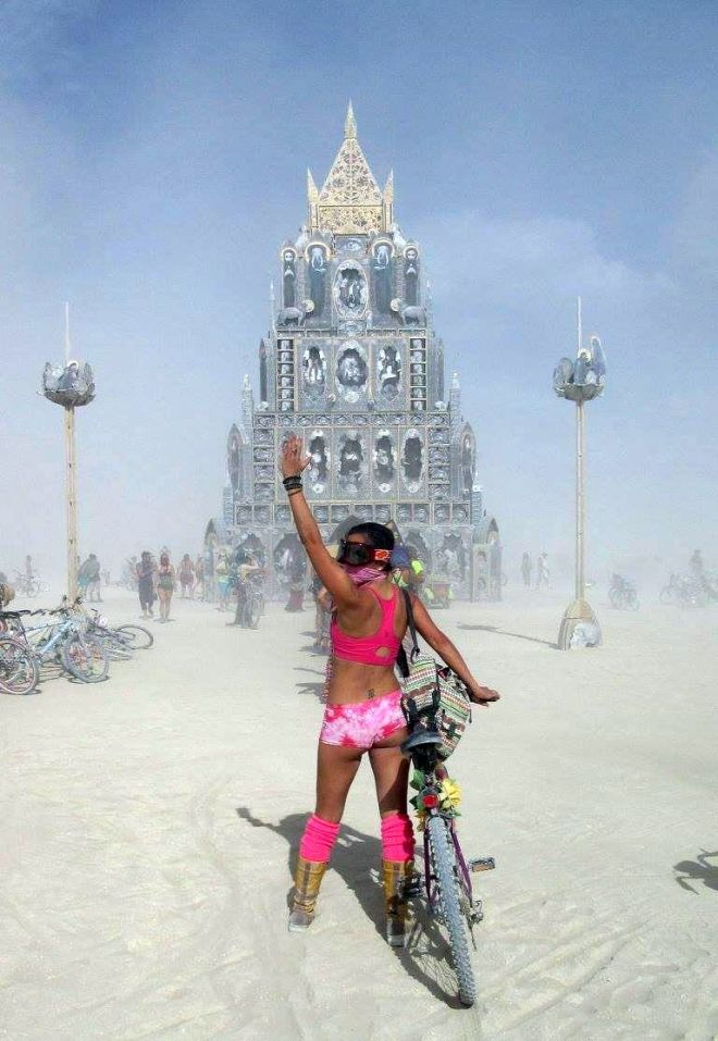 Knowing the wind at Burning Man, Black Rock Desert, Nevada.