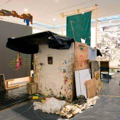 Painters Garret: The Church of Naivety // Mixed Media // 20 x 6 x 7 m // 2010