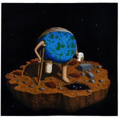 Goya's Gaia #15 // Acrylic on board 60 x 61cm // 2010