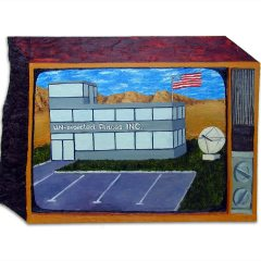 CH.61: UN-Inspected Places // Oil on MDF // 46 x 67 cm // 2004