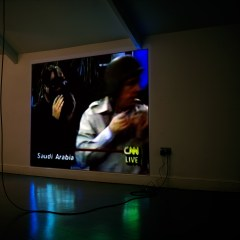 Scuds N Duds // Video Projector, DVD Player, Amplifier // 7:30 min // Dimensions Variable // 2011