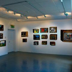 Static TV // Butler Gallery Installation // Mixed Media // 2007