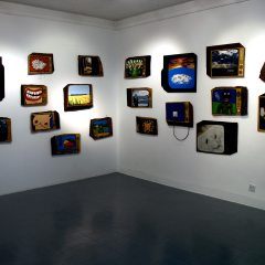 Static TV // Butler Gallery Installation // Mixed Media // 2007