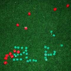 Monopoly Scrabble // Monopoly Houses // 20 x 10 x 1 cm // 2006