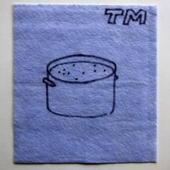 Cultural Melting Pot // Dish Cloth & Permanent Marker// 2013