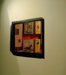Magnolia TV // Acrylic Paint, Wood // 240 x 120 cm // 2001