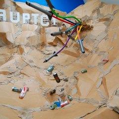 Landslide @ Lake Prosperity // Action Sculpture // Airborne Dimensions // 2011