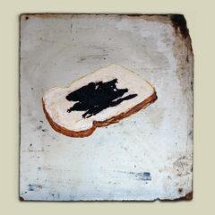 Bread 'N' Brown Sauce: A North Kilkenny Slave Sandwich (after Charles Brady) // Acrylic on Board // 46 x 33 cm // 2005