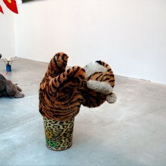 Tiger Spots & Leopard Stripes // Sort Tiger Toy, Refuse Bin // 30 x 60 x 30 cm // 2006