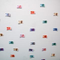 Fiat Faith // Play Money // 150 x 470 cm // 2006