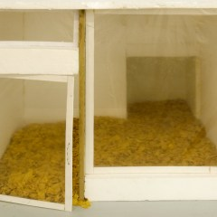 The Yawn Centre // Styrofoam, Wood, Plastic, Glue, Cornflakes // 1 x 1 x 0.5 m // 2010