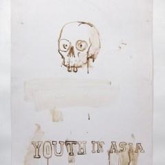 CFR Handkerchief // Acrylic on Card// 100 x 65 cm // 2013