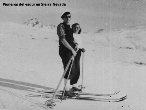 Pioneros en Sierra nevada