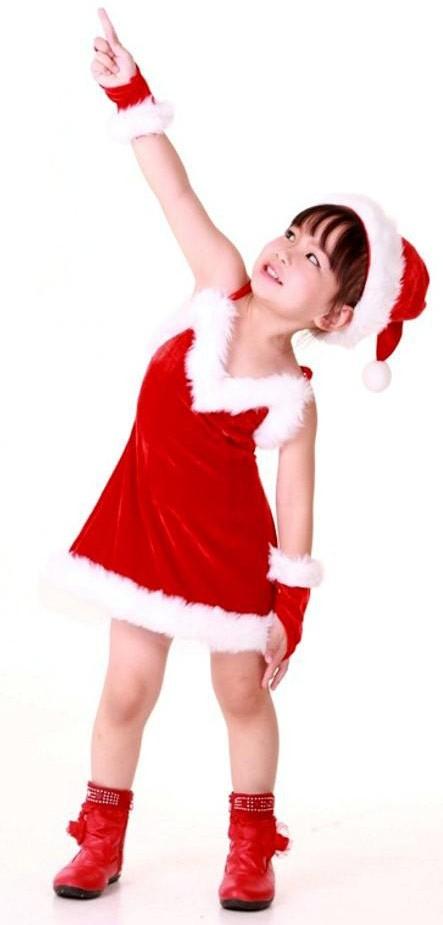 Santa Valentine Outfit Kids Costumes Neve Bianca