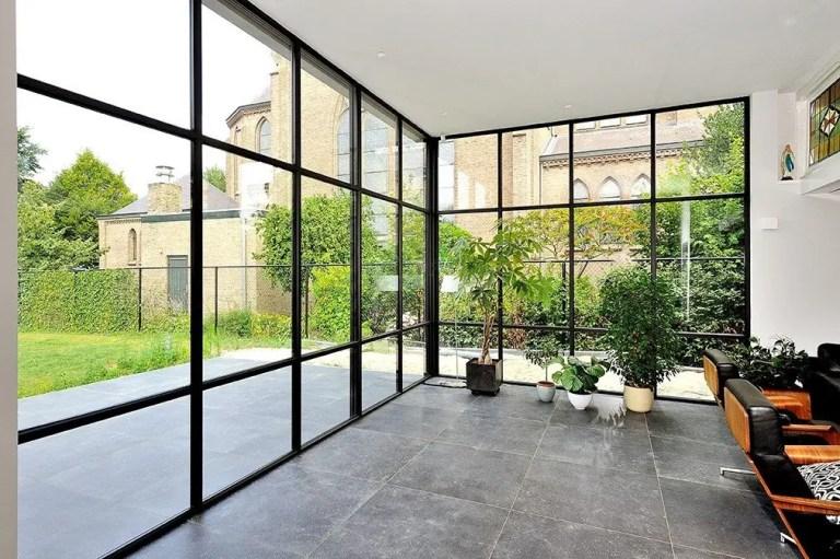 Steel look ramen en deuren