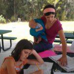 Super mom Meegan teaching Latin at co-op