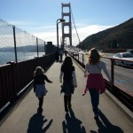 A cool day is perfect for a hike across the Golden Gate Bridge.