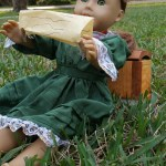 Reading doll