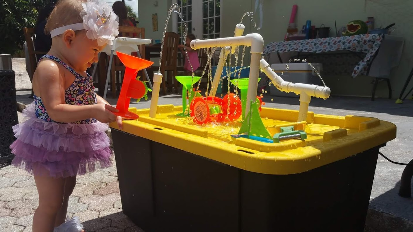 Building a Toddler Play Splash Fountain