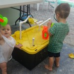 baby play fountain