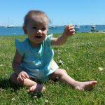 Baby at Plymouth