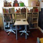 Schoolroom desk