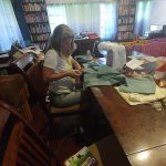 Cutting pillowcases for mats