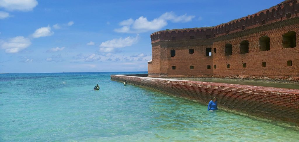 Moat at Fort Jefferson