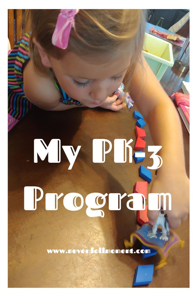My PK-3 Program